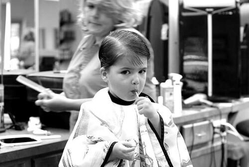 Barber shop sucker