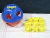 Vintage Tupperware Shape-O-Ball Baby Puzzle Toy