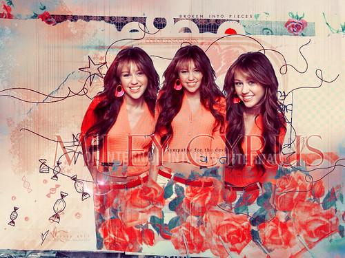 Miley Cyrus by colorsensationsx.