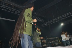 Stephen Marley and Damian Marley in Concert, Queens, NY (Revenge Entertainment) Tags: new york media stephen queens revenge jamaica junior dancehall jam reggae marley gong irie inc damian amazura