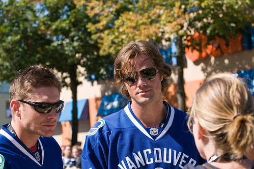 Jensen Ackles & Jared Padalecki at Red Bull Soapbox Derby