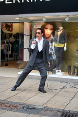 Elvis impersonator on The Walk
