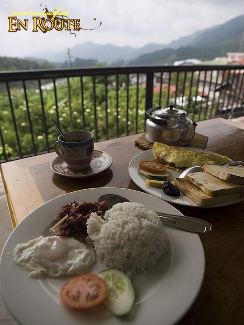 Breakfasts at St. Joseph Resthouse Sagada
