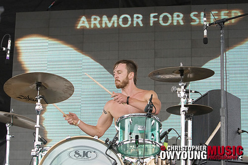 Armor for Sleep @ Projekt Revolution