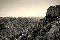 Mountains of Montserrat (swilton) Tags: mountain nature spain rocks catalonia montserrat cablecar sigma1020mm benedictinemonastery nikond40x photofaceoffwinner aeridemontserrat pfogold