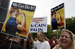 Sarah Palin campaign signs