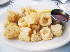 fried calamari @ water street