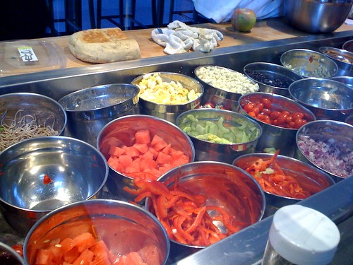Salad toppings by Nicole Lee from Flickr