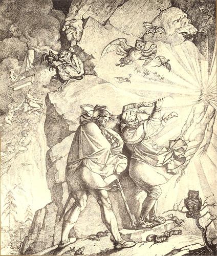 21- Noche de Walpurgis.  Fausto dirigido por Mefistófeles