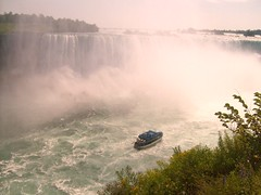 Maid of the Mist boat,Niagara Falls US-Canada (Fliker_2000) Tags: trip travel family light vacation mist reflection fall texture 120 film me beautiful yellow flickr day first niagara falls 365 d300 vacationvacation firstdayoffall 50faves 5photosaday explored waterclouds 25faves flickr365 1on1photooftheweek rubyphotographer 1on1photooftheweekoctober2008