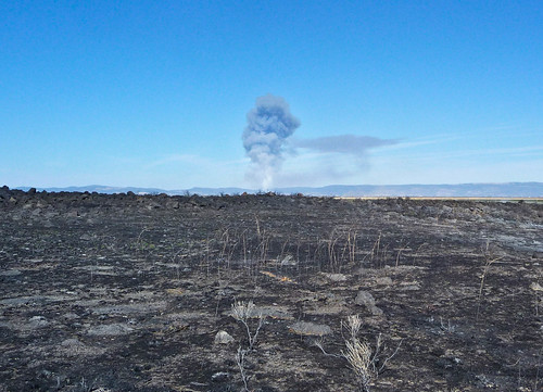 Lava Beds Burn Area by ex_magician, on Flickr