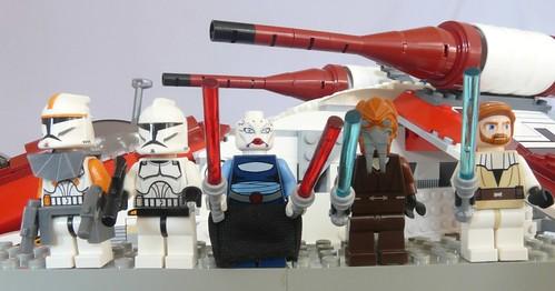 star wars 7676. Star Wars Lego 7676 Republic