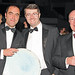 James Nesbitt with Michael Rafferty and a guest attend the People of the Year Awards
