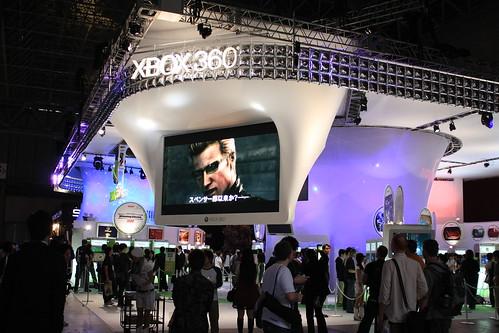 マイクロソフト XBOX 360 ブース