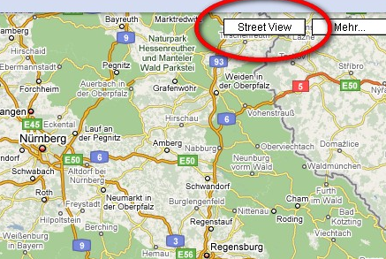 StreetView-Button Deutschland