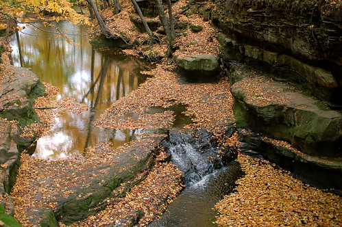 Pewit's Nest - Upper Falls