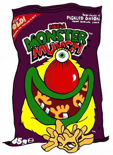 Monster Munch was launched in Britain in 1977, originally produced by Smiths
