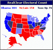 The electoral map offers opportunities for both ends of the political s