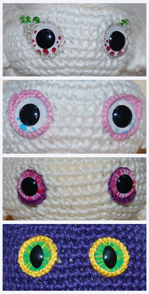 Amigurumi Eyes Michaels : MyGurumi: HOW TO - amigurumi eyes