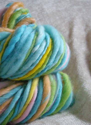 festival-handspun yarn #1