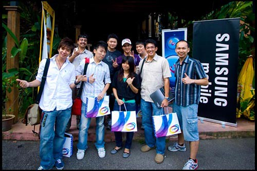 Samsung Innov8 Run Group Photo