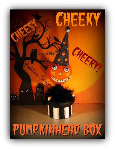 Cheesy, Cheeky Cheery Pumpkinhead box