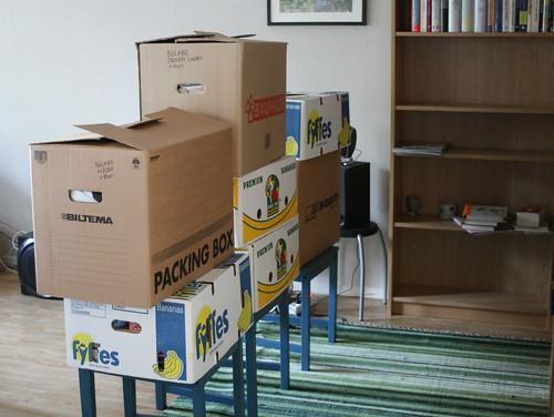 Flyttpackning