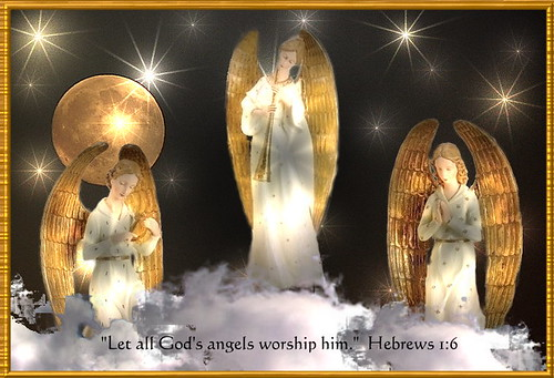 Let All God's Angels Worship Him