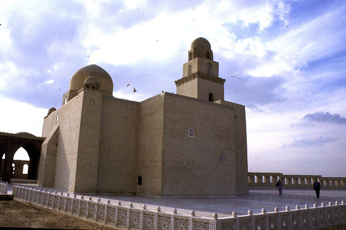 The Mashhad al-Juyyushi: View of the mashhad after the 1990's restoration