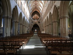 Wells Cathedral (chris37111) Tags: light shadows cathedral wells somerset wellscathedral olympus alter isle e410