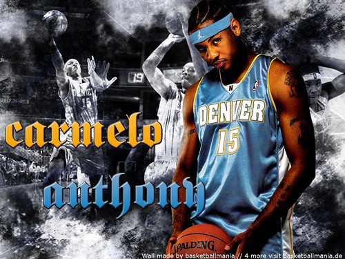 Carmelo Anthony Nuggets Wallpaper