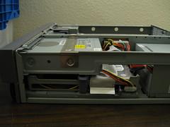 Sun Blade 100 - hard drive bays