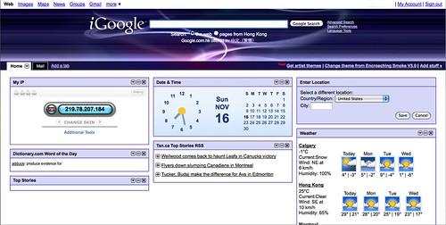 My iGoogle