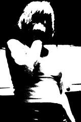 ...mysterious girl... (Radek Bednařík) Tags: portrait white black love girl delete10 female delete9 delete5 delete2 raw moody delete6 delete7 grain lofi delete8 delete3 delete delete4 save mysterious noise darling flickrlovers dulique