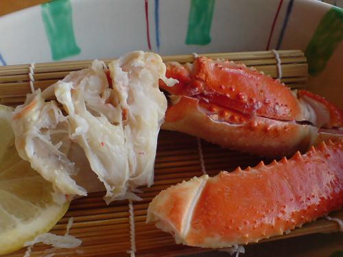 你拍攝的 螃蟹道樂的大餐。