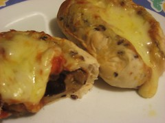 Eggplant & Mozzarella Rolls 1