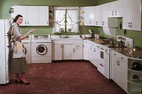50's kitchen with style