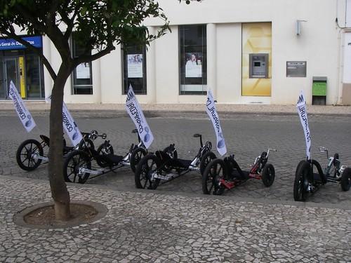 Karts KMX em Sousel no dia Mundial Sem Carros