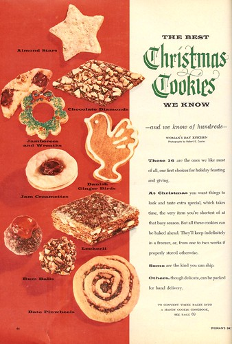 best christmas cookies (by senses working overtime)