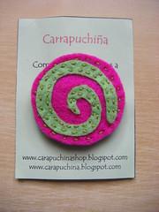 espiral rosa