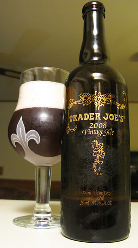 Trader Joes 2008 Vintage Ale - Picture from Flickr