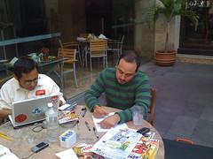 Jose Miguel (culturacomic.com) y Guffo