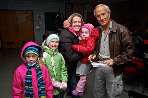 Marla, girls and Jack Hanna