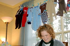 (yorkd) Tags: family girls friends boy party food baby house cake mom fun cards shower born women infant remember birth mother son nh pregnant best clothes belly gifts presents wishes laugh clothesline celebrate decorate share babyshower 603 momtobe