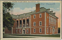 postcard stetson 1947 (ledges) Tags: williamscollege oldpostcard