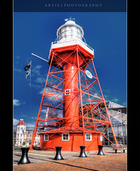 Port Adelaide Lighthouse :: HDR (Artie | Photography :: I'm a lazy boy :)) Tags: lighthouse house building heritage century photoshop canon cs2 victorian australia wideangle flags structure handheld adelaide 1020mm southaustralia hdr 19th customs customshouse artie italianate portadelaide 3xp sigmalens photomatix tonemapping tonemap 400d rebelxti