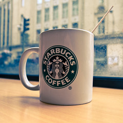 I Love Starbucks By Beniamino Baj