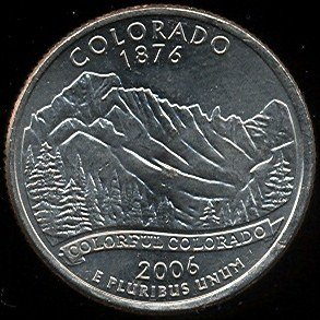 25 Cents USA 2006 Colorado