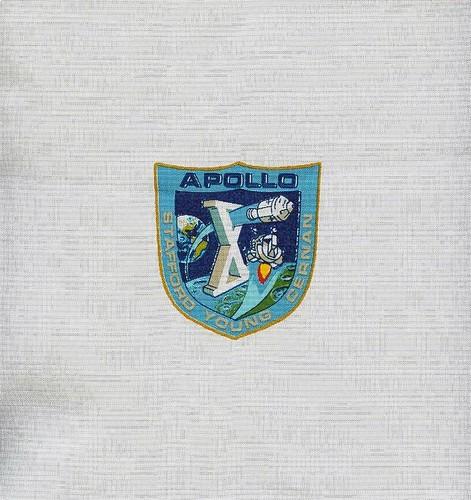 APOLLO 10 / STAFFORD YOUNG CERNAN / BETA CLOTH