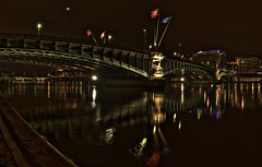 PdL pano HDR 1 (emeric_nectoux) Tags: bridge monument architecture night lyon bridges pont nuit hdr highdynamicrange ponts